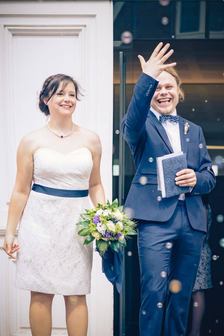 Brautpaar Bilder am Standesamt Münster