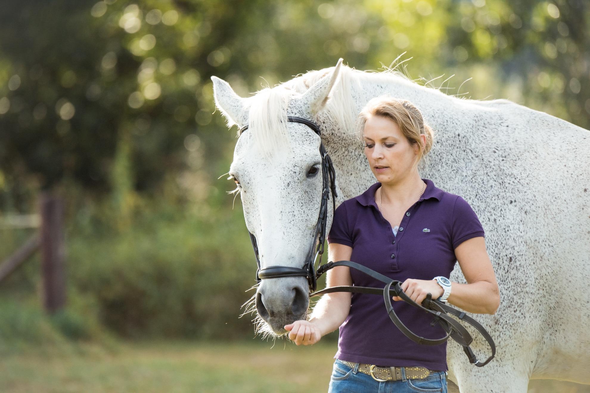 Pferdefotos mit Freundin