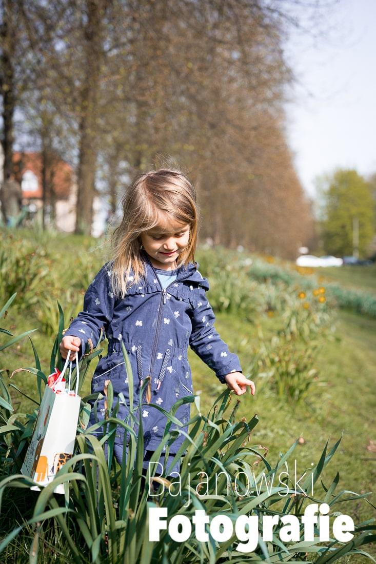 Kind an der Promenade in Münster
